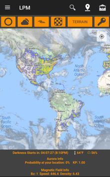 Light Pollution Map screenshot 9