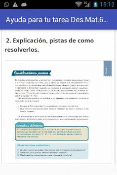 Ayuda Tarea de Desafíos Mate 6 screenshot 7