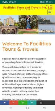 Facilities Tours & Travels Mumbai poster