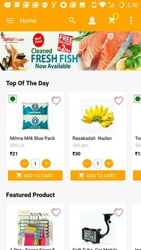 SpicyBe India Fastest Online Super Market poster