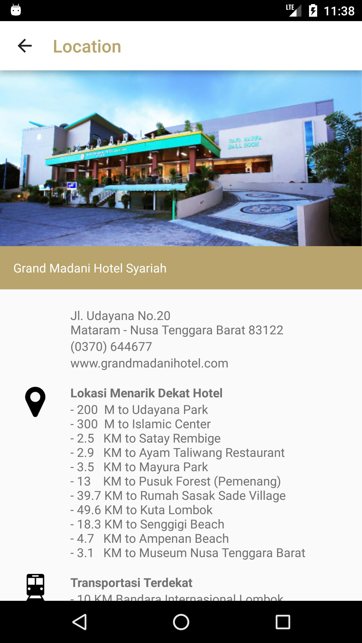Grand Madani Hotel For Android Apk Download