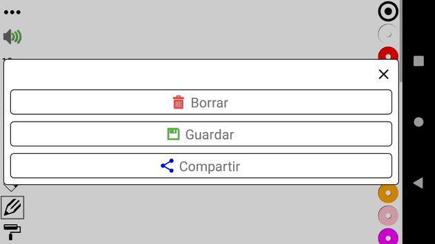 La pizarra en Español de Lucas captura de pantalla 1