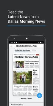 The Dallas Morning News poster