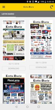 Listin Diario スクリーンショット 1