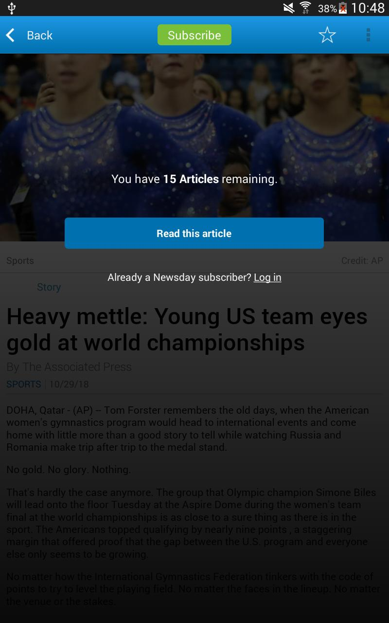 Newsday for Android - APK Download