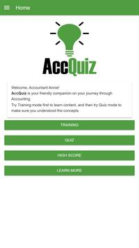 Accounting Quiz - AccQuiz poster