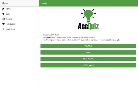 Accounting Quiz - AccQuiz screenshot 5