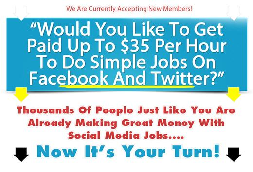 Paid Social Media Jobs screenshot 5