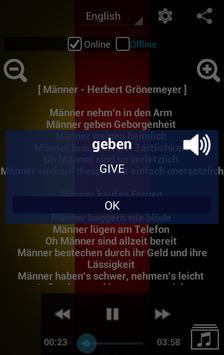 Learn German with Music screenshot 3