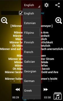 Learn German with Music screenshot 4