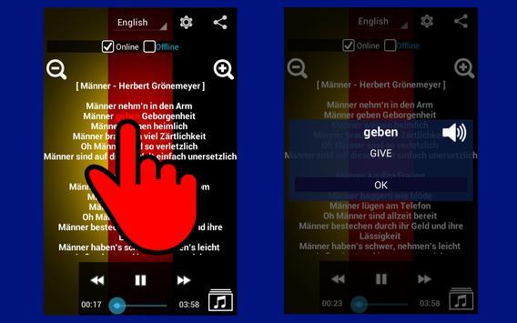 Learn German with Music screenshot 8