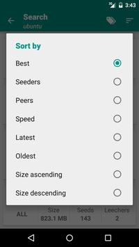 Torrent Search Engine screenshot 4