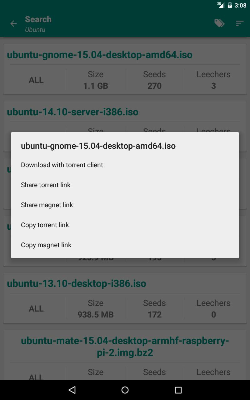 Torrent Search Engine for Android - APK Download
