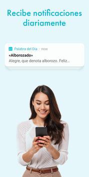 Palabra del dìa — Diccionario Español : definición poster