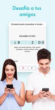 Palabra del dìa — Diccionario Español : definición screenshot 5