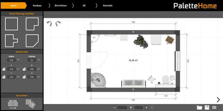 Palette Home screenshot 4