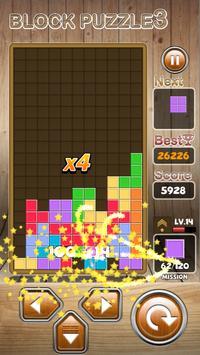 Block Puzzle 3 : Classic Brick تصوير الشاشة 4