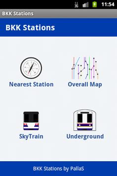 BKK Stations poster