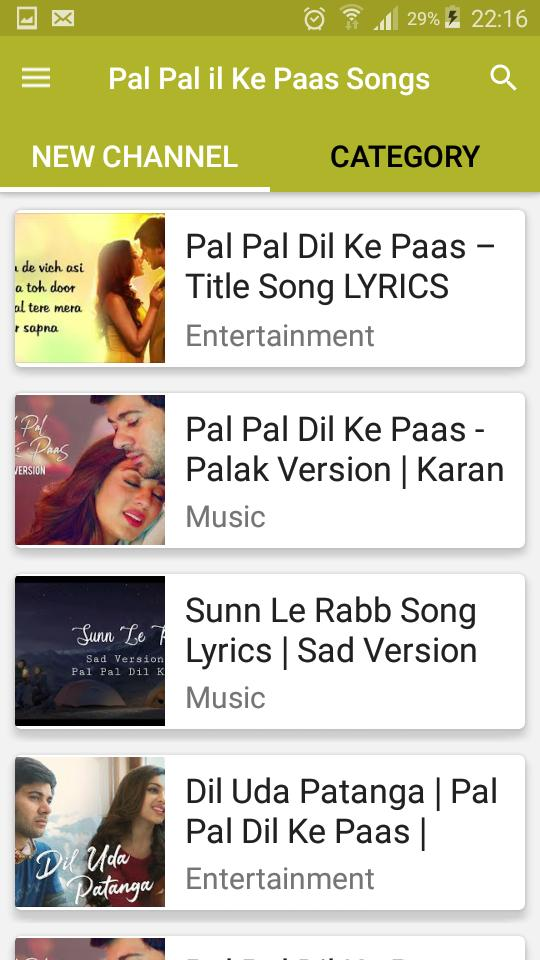 Pal Pal Dil Ke Paas Songs for Android - APK Download