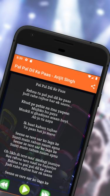 Pal Pal Dil Ke Paas song for Android - APK Download