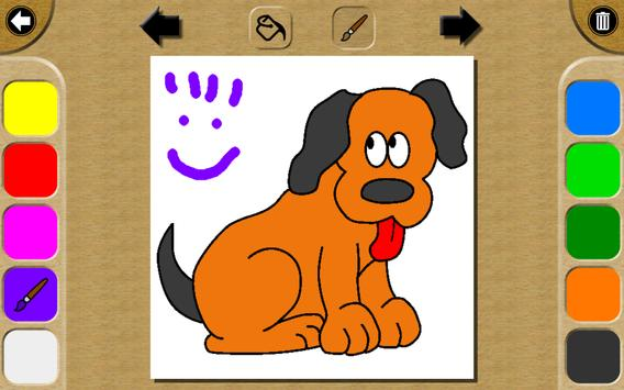 Baby Paint - Coloring book screenshot 7