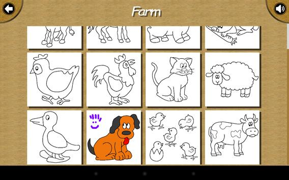 Baby Paint - Coloring book screenshot 9