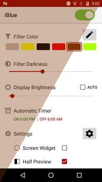 Bluelight Filter screenshot 2