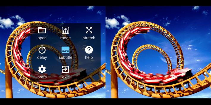 iPlay VR Player for SBS 3D Video स्क्रीनशॉट 3