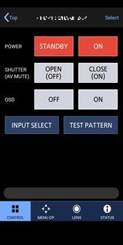 Smart Projector Control screenshot 1