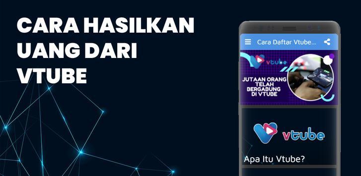 Cara Daftar Vtube Aplikasi Penghasil Uang Terbaru For Android Apk Download