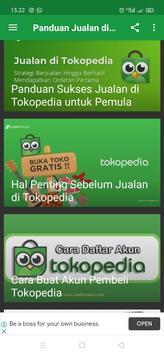Panduan Jualan di Tokopedia Lengkap screenshot 1