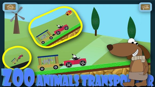 Panda animal zoo transporter bus screenshot 4