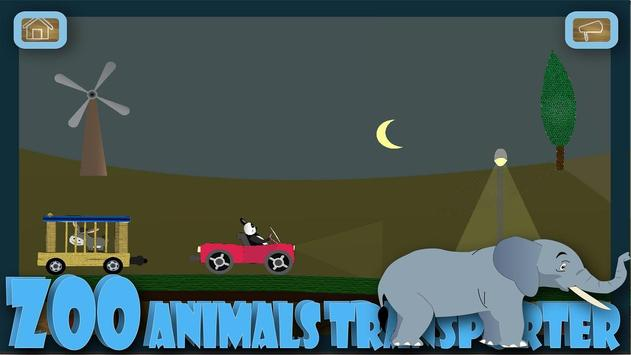 Panda animal zoo transporter bus screenshot 6