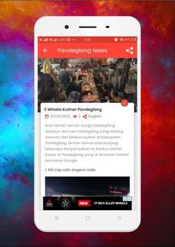 Pandeglang News screenshot 5