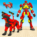 Panther Transform Robot: Drone Robot Games