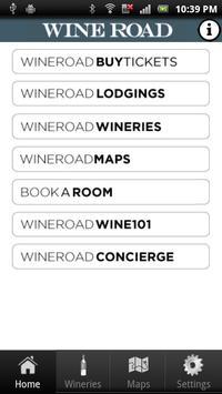 Wine Road : Northern Sonoma poster