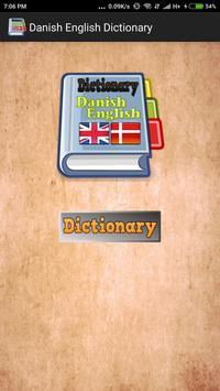 Danish English Dictionary screenshot 1
