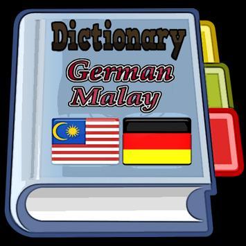 Malay German Dictionary poster