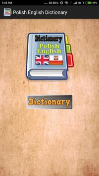 Polish English Dictionary screenshot 1