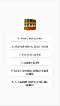 Places Saudi Arabia poster
