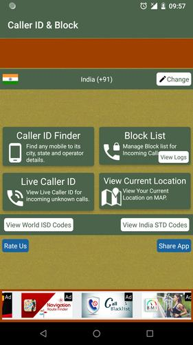 Mobile Call Number Tracker & Blacklist for Android - APK