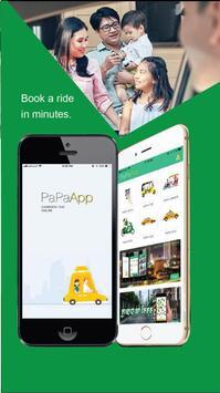PaPa Taxi App poster