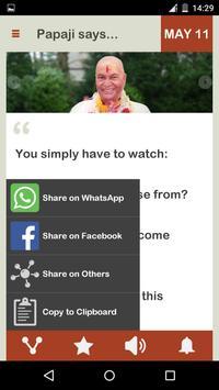 Papaji Daily screenshot 6