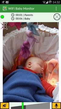 WiFi Baby Monitor syot layar 5
