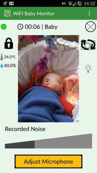 WiFi Baby Monitor plakat