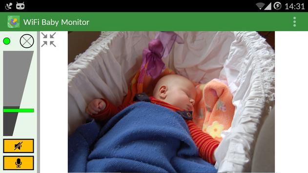 WiFi Baby Monitor syot layar 12