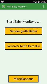 WiFi Baby Monitor syot layar 2