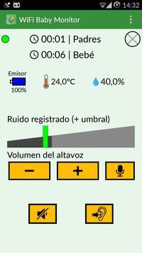 WiFi Baby Monitor: para bebé captura de pantalla 6