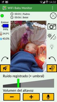 WiFi Baby Monitor: para bebé captura de pantalla 1