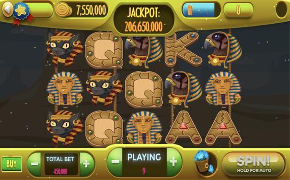 Egyptian Treasures Free Casino Slots poster